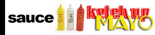 Sauce Ketchup Mayo