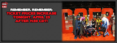 Last Chance to Get Cheap C2E2 2013 Tix, Price Increases After Tonight