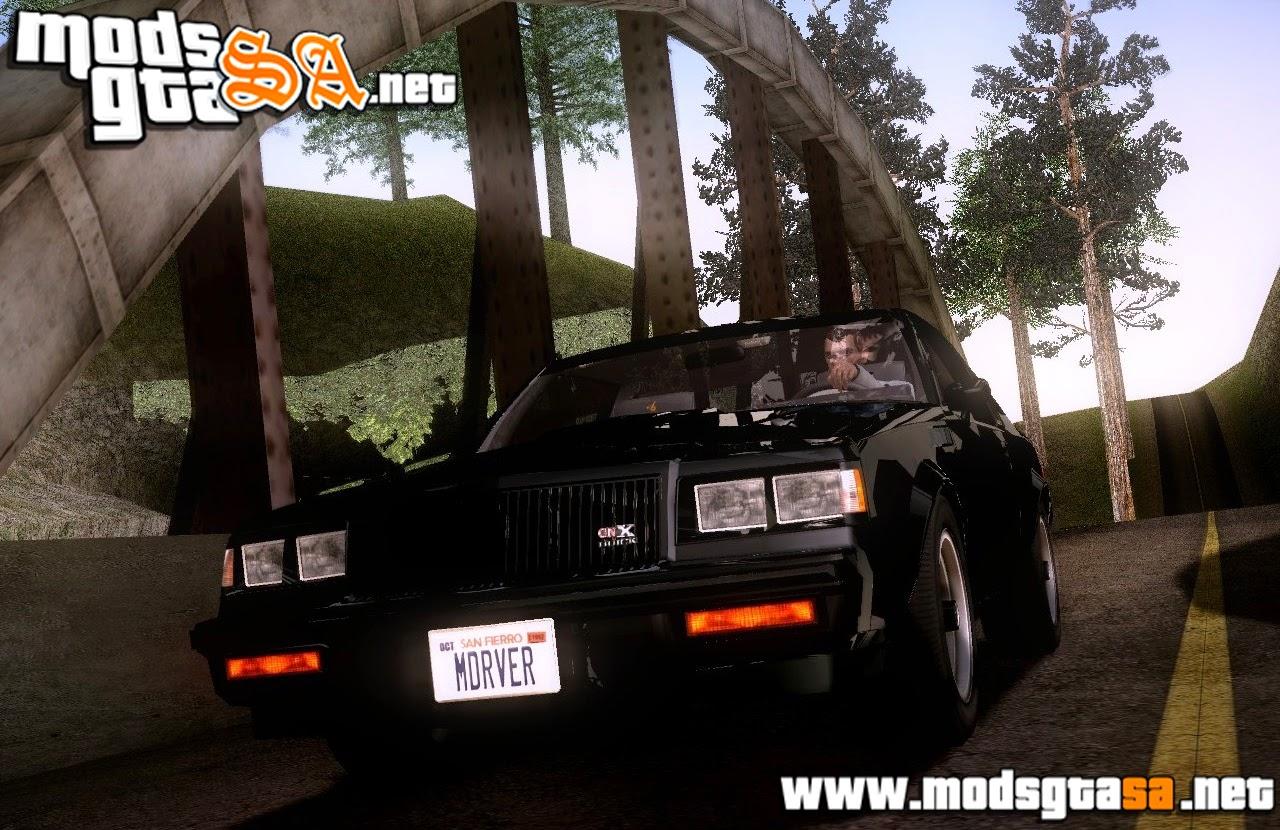 SA - Buick GNX 1987