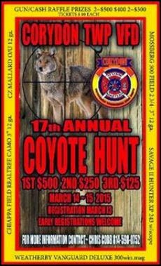 3-14/15 Coyote Hunt, Corydon