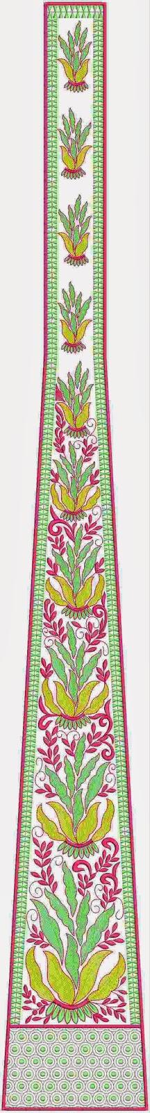 Italië mode borduurwerk kali appliekwerk
