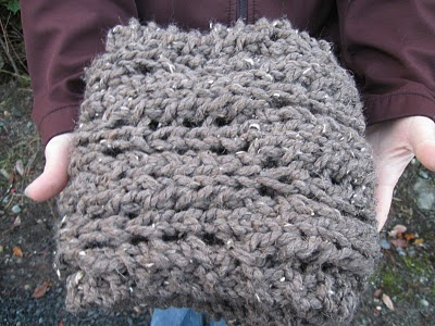 Knitting Architect Great Chunky Scarf Knitting Pattern