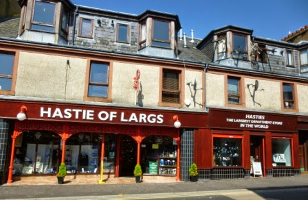 Hastie of Largs - the Largsest Department Store in the World