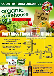 Country Farm Organics Warehouse Sale 2012