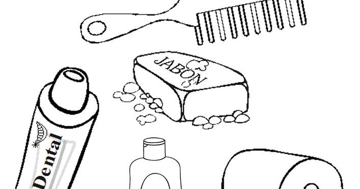 100 ideas dibujos para colorear utiles de aseo personal for Imagenes de utiles de aseo