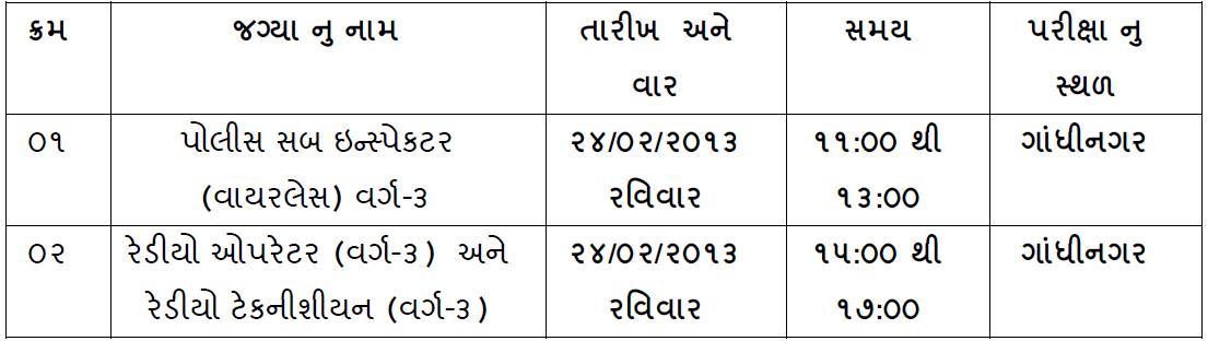 Exam date of Wireless PSI
