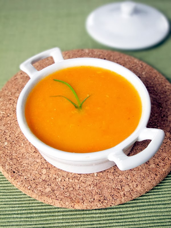 Healthy Blended Vegetable Soup image