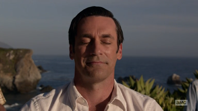 "Don Draper loses himself in the ""Mad Men"" finaleA"