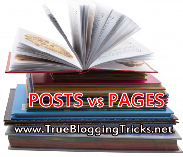 Beda Antara Post (Entri) dan Page (Halaman) di Blog