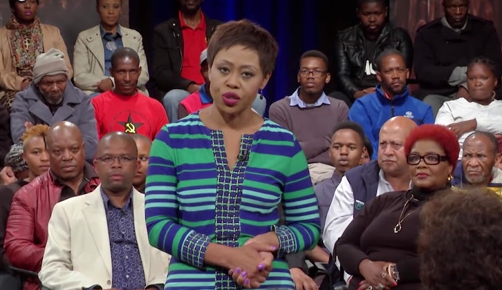 THE BIG DEBATE BURSTS BACK - WITH REDI TLHABI