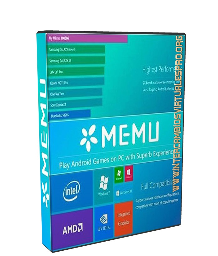 MEmu 2.8.5 poster box cover