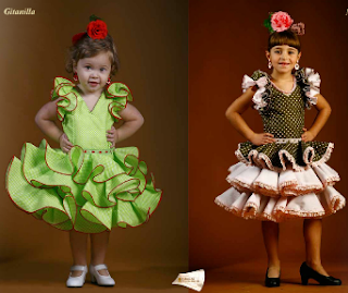 trajes de flamenca niñas