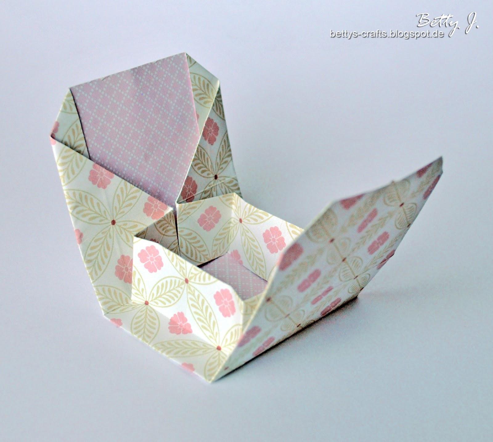 Geschenkbox origami