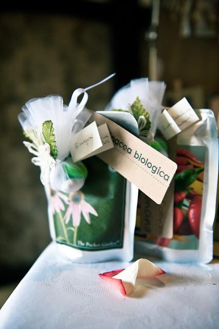 ecosposi matrimonio ecologico bomboniere giardini tascabili