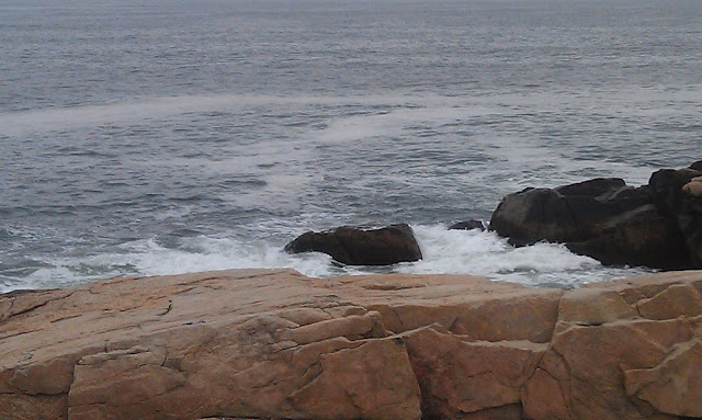 waves on Hazard Rock