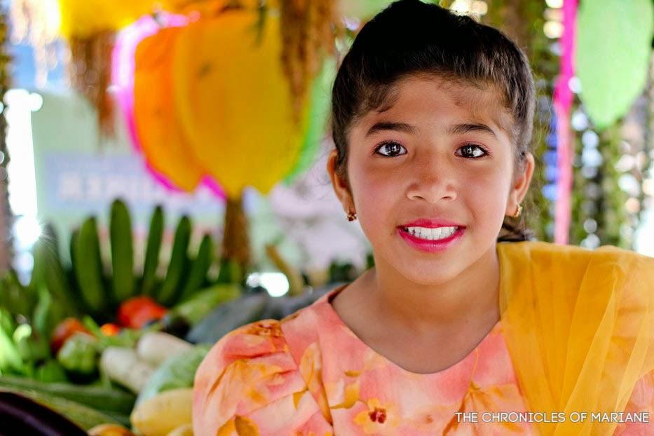 pahiyas festival filipino girl