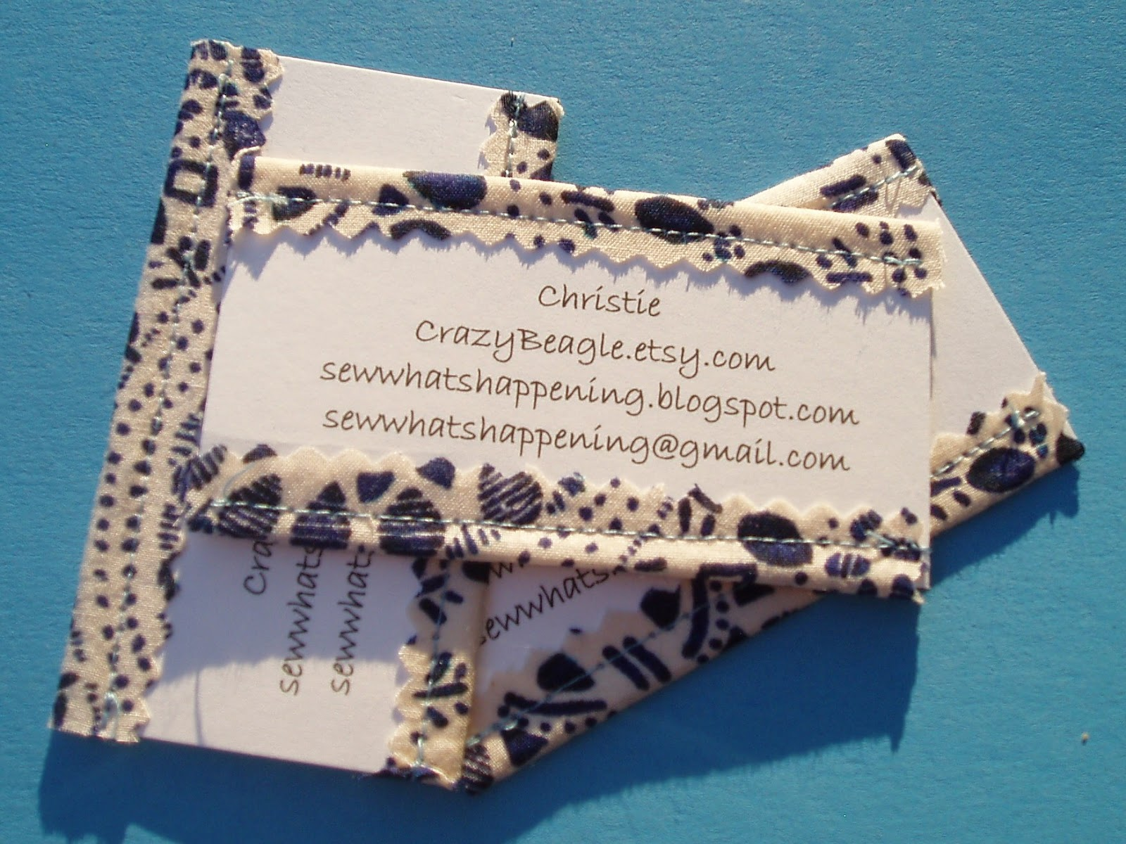 Sew whats happening business cards after making a few cards i decided to order some from vistaprint im anxiously awaiting their arrival in my mailbox im still planning on sewing fabric colourmoves