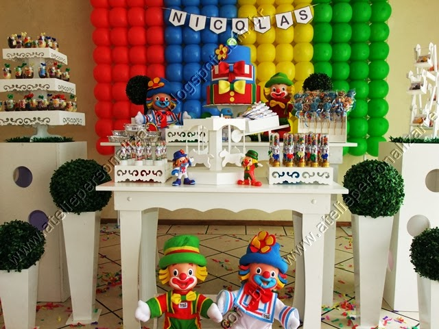 decoracao festa aniversario infantil patati patata porto alegre
