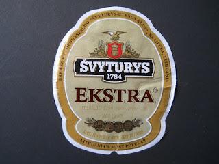 lithuanian beer Svyturys Ekstra