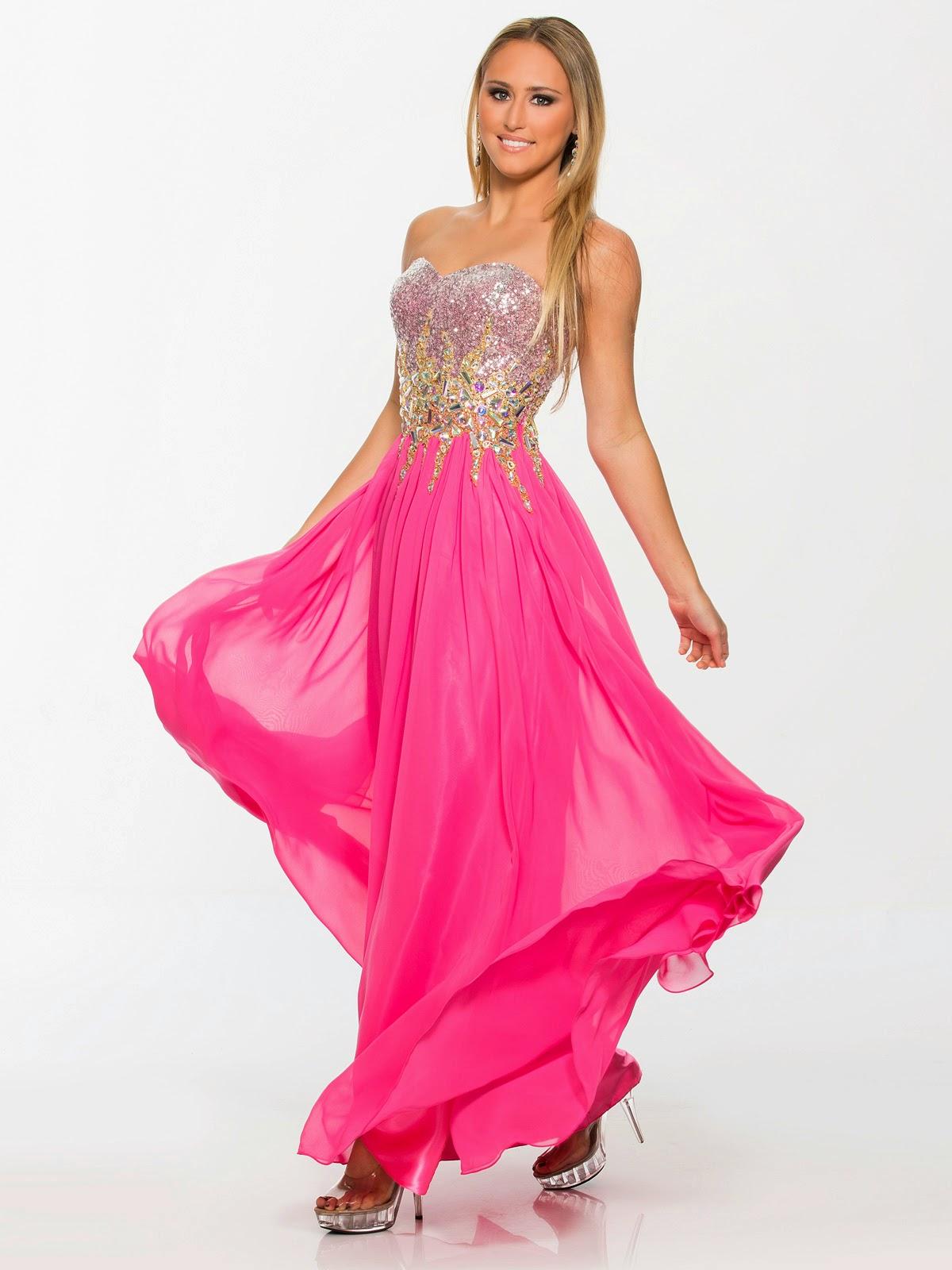 Magníficos vestidos de fiesta lagos
