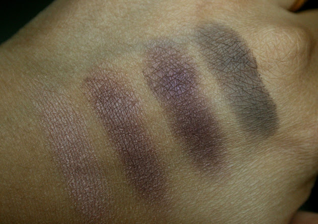 Burberry Complete Eye Palette in Plum Pink Swatches