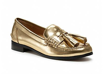 Haydee Loafers Coach Gold