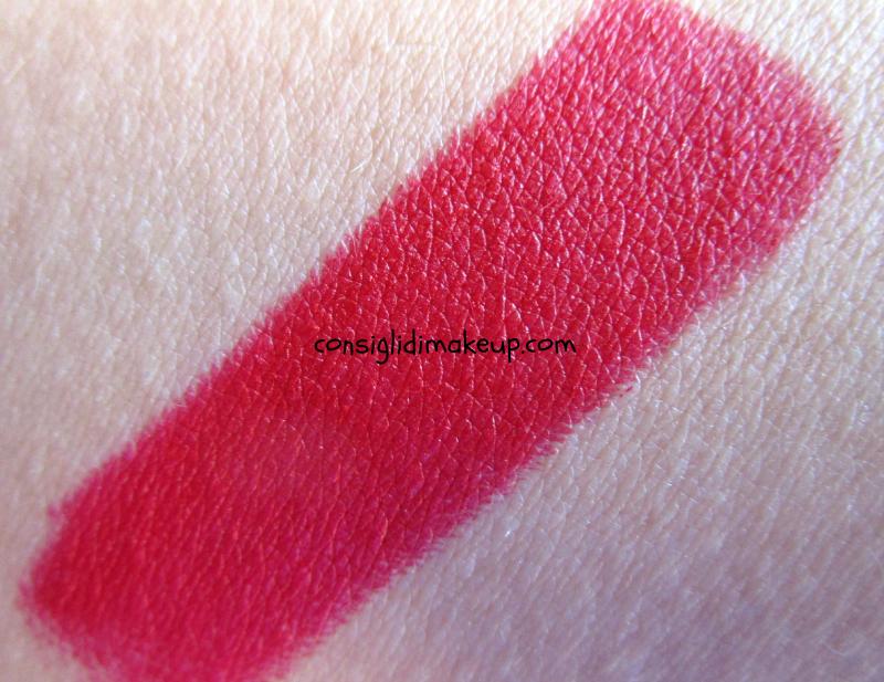 rossetto rosso fuoco blake l'oreal pure reds