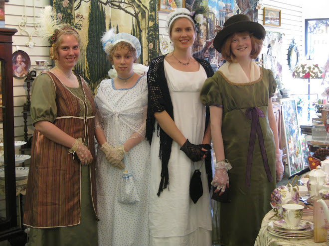 THE REGENCY GIRLS VISIT BERNIDEEN'S