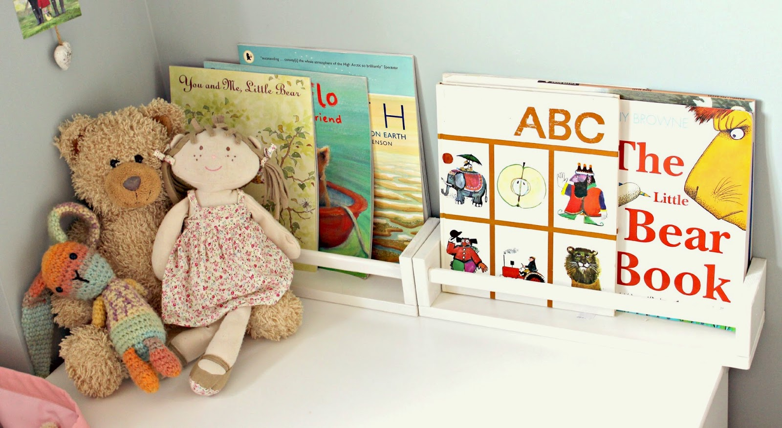 book corner toddlers room