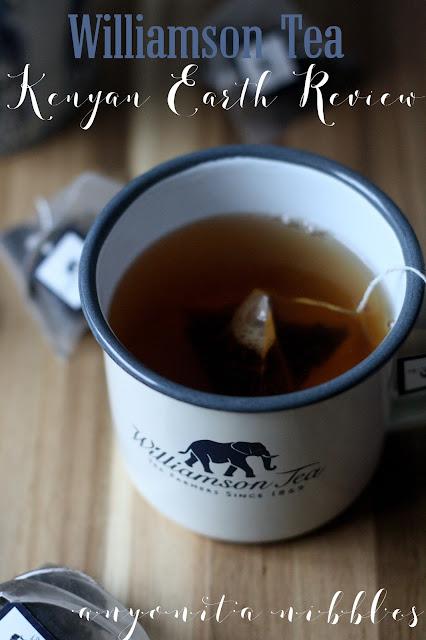 Williamson Tea's Kenyan Earth Tea Review from Anyonita-nibbles.co.uk