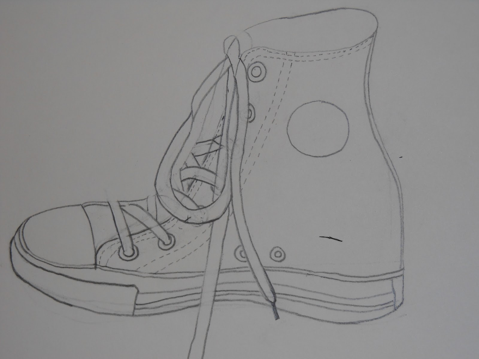 Contour Line Drawing Of Shoes : Art to go shoe contour line drawings