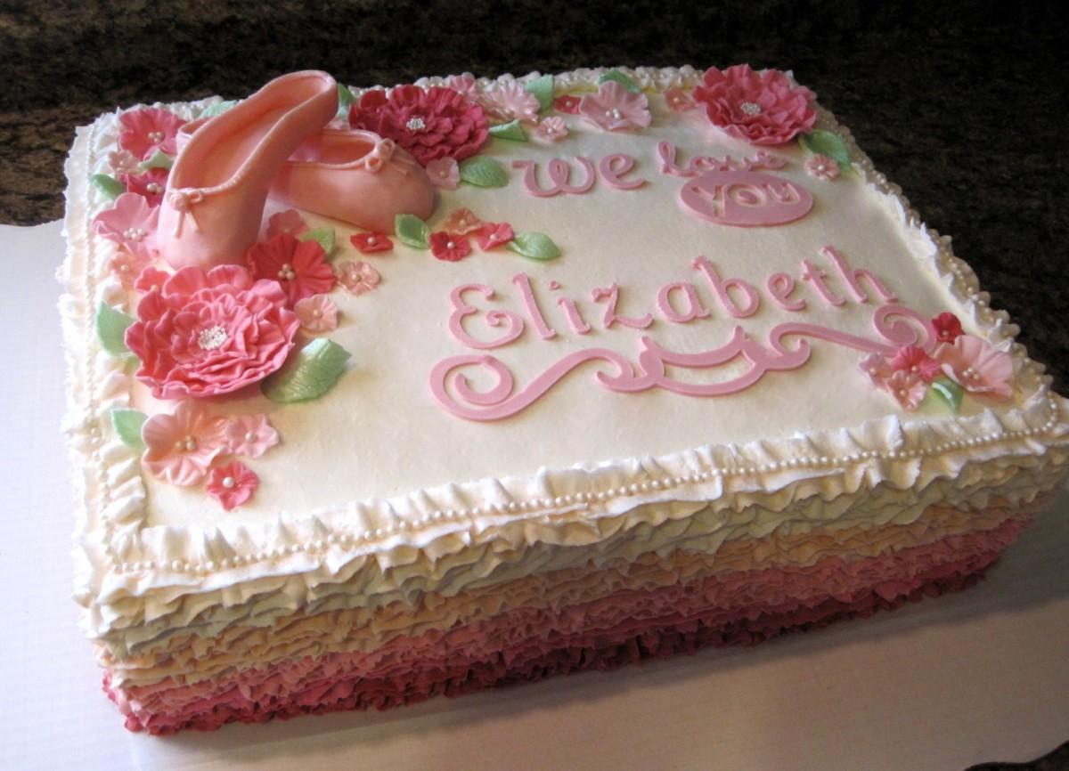 10 Pretty Bridal Shower Cakes Designs Ideas CAKE DESIGN AND