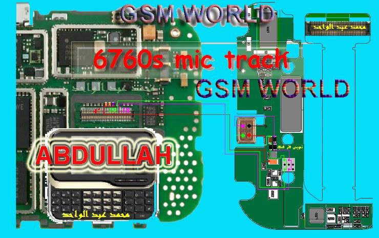 Aslom Mobile Nokia6760s Mic Ways Nokia 6760s Mic Ic