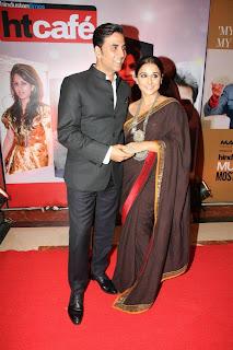 Akshay and Vidya at HTCafe Red Carpet