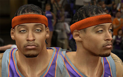 NBA 2K13 Michael Beasley Cyberface Patch