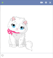 Very cute kitten icon