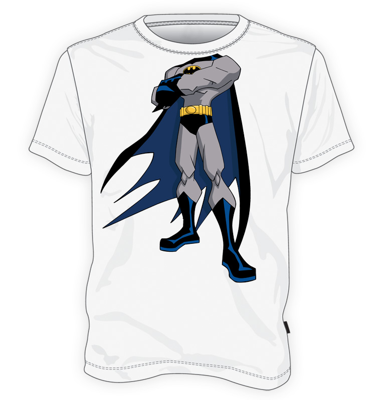 koszulka z ciałem Batmana