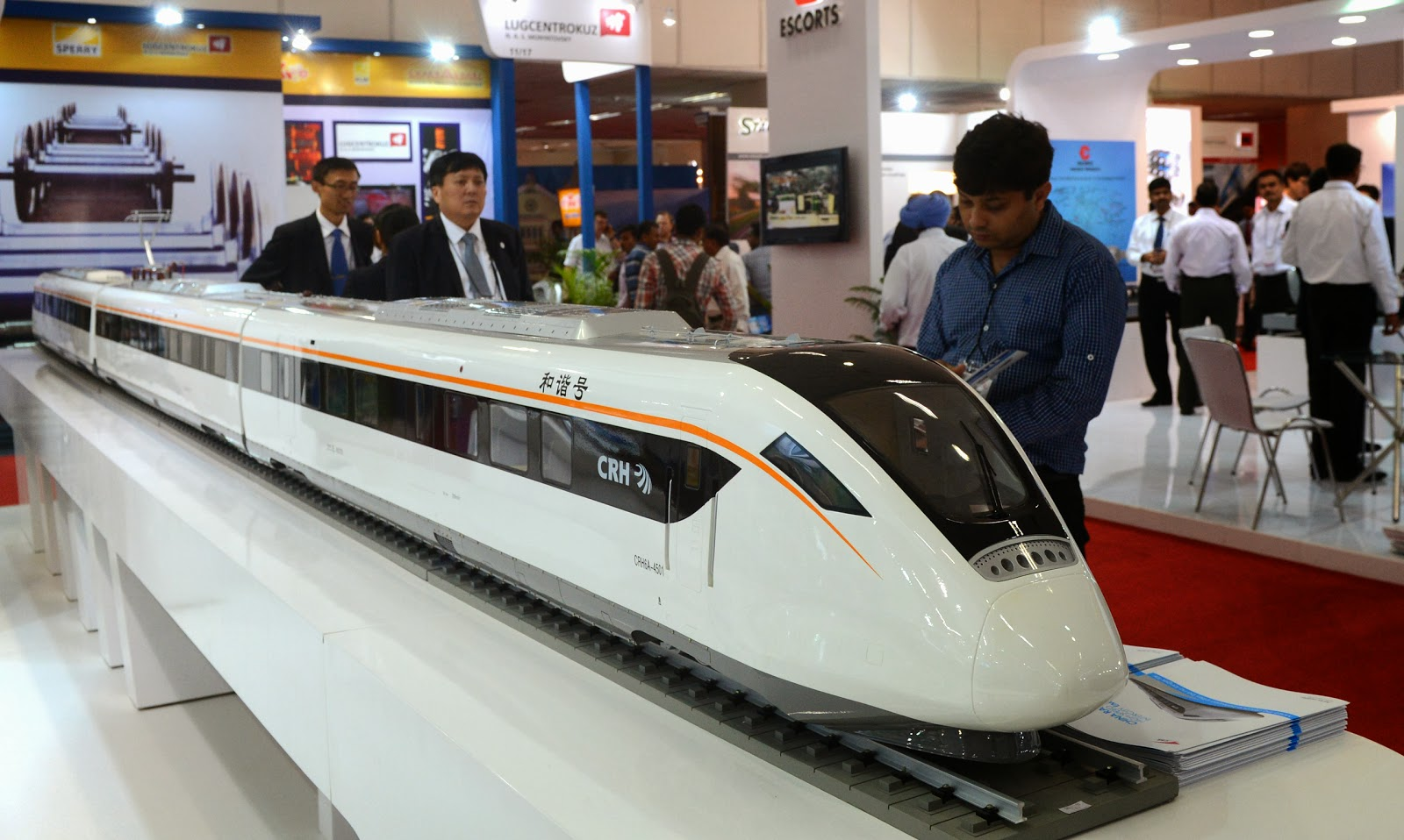 China, CHR Train, Confederation of Indian Industry (CII), Exhibition, India, Industry, International Railway Equipment Exhibition (IREE), New Delhi, Railway, Train,