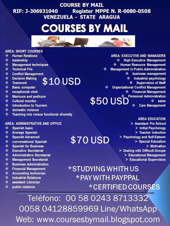 Courses By Mail