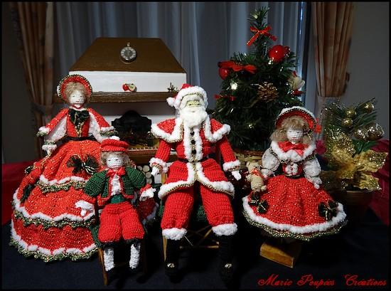 Poupées de Noël