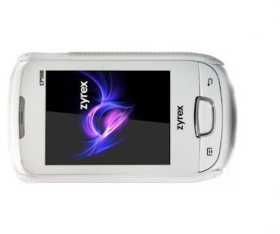 Zyrex Cherry CP988, Handphone Touchscreen Dual-GSM