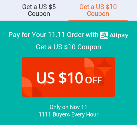 Aliexpress coupons sale