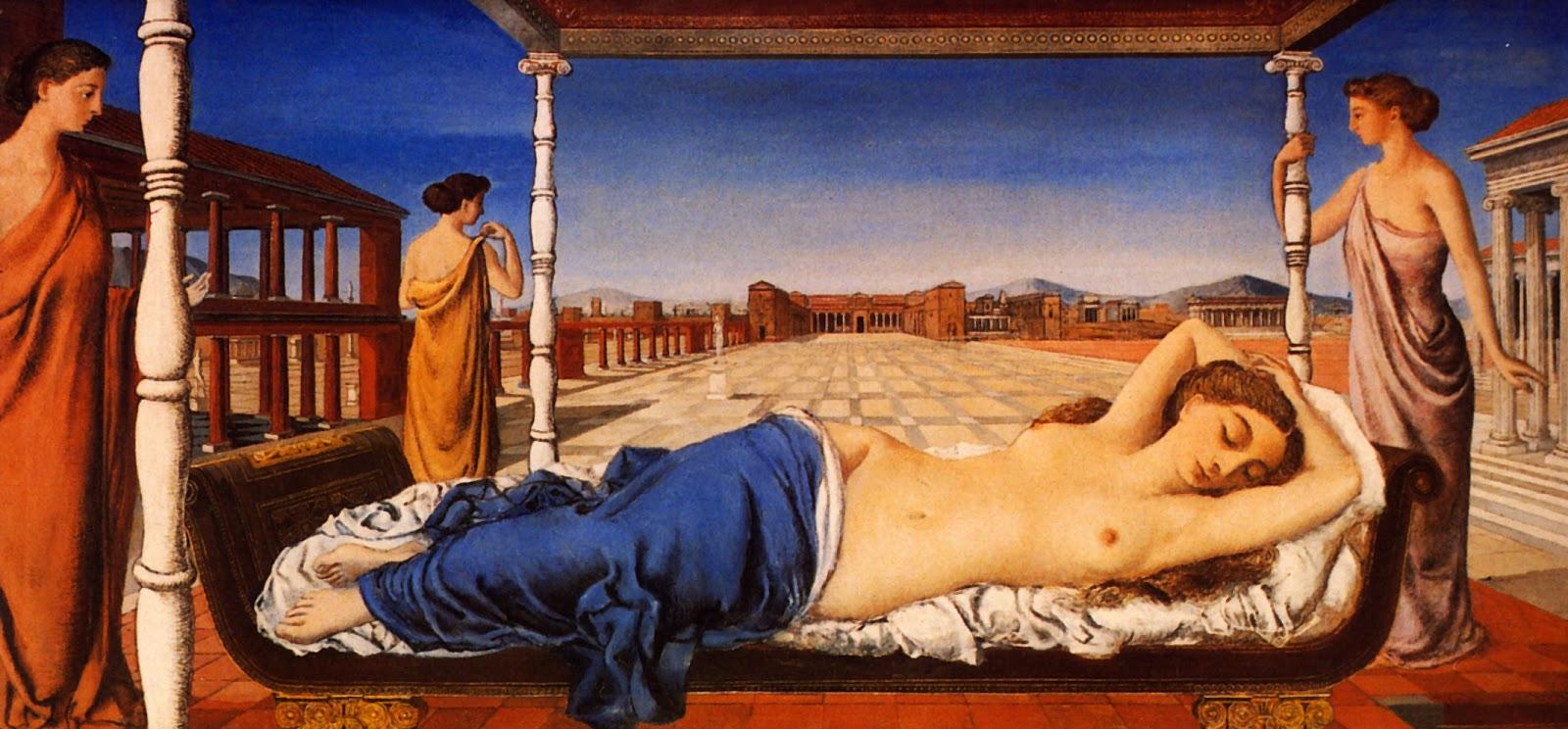La Venus Endormie (Paul Delvaux, 1943)