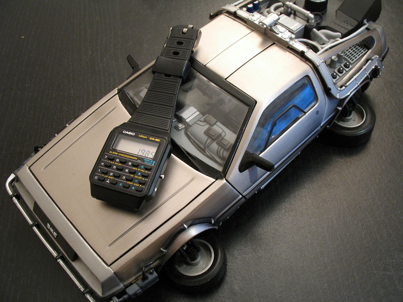 Calculator Watch Back to The Future Back to The Future Calculator