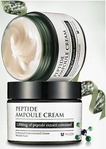 Удивительное рядом: Peptide Ampoule cream от Mizon