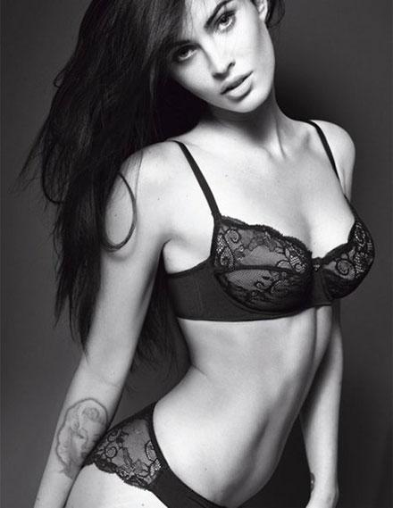 new megan fox armani ad. Megan Fox who is featured in