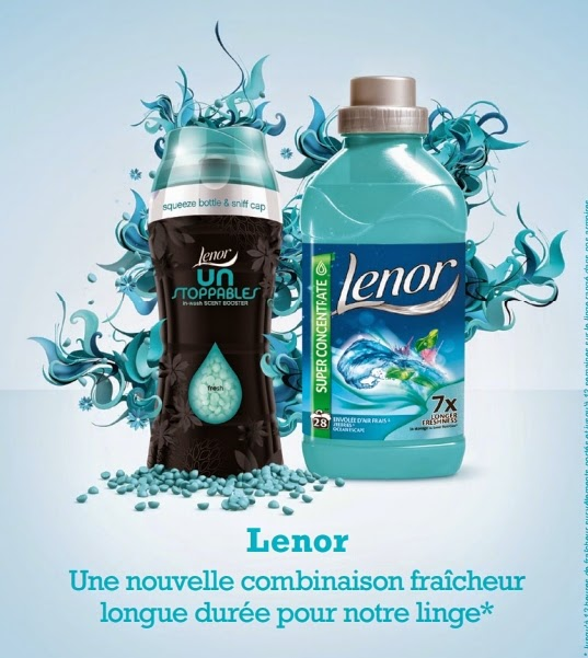5 000 packs lessive Lenor à tester
