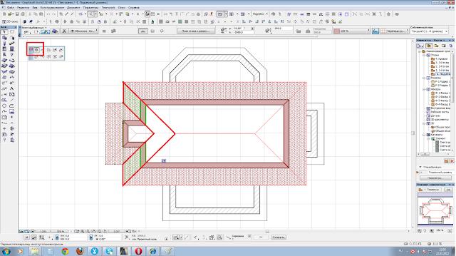 Как сделать разрез а архикаде
