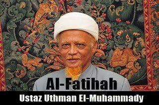 Al-Fatihah: Dr Muhammad Uthman El-Muhammady meninggal