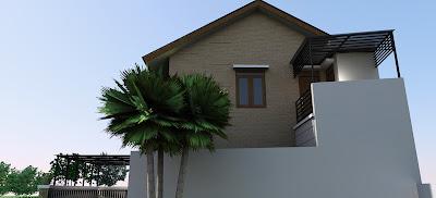 rumah 2 lantai minimalis on Desain Rumah Minimalis 2 lantai dengan dinding ekspose ~ REVIEW RUMAH